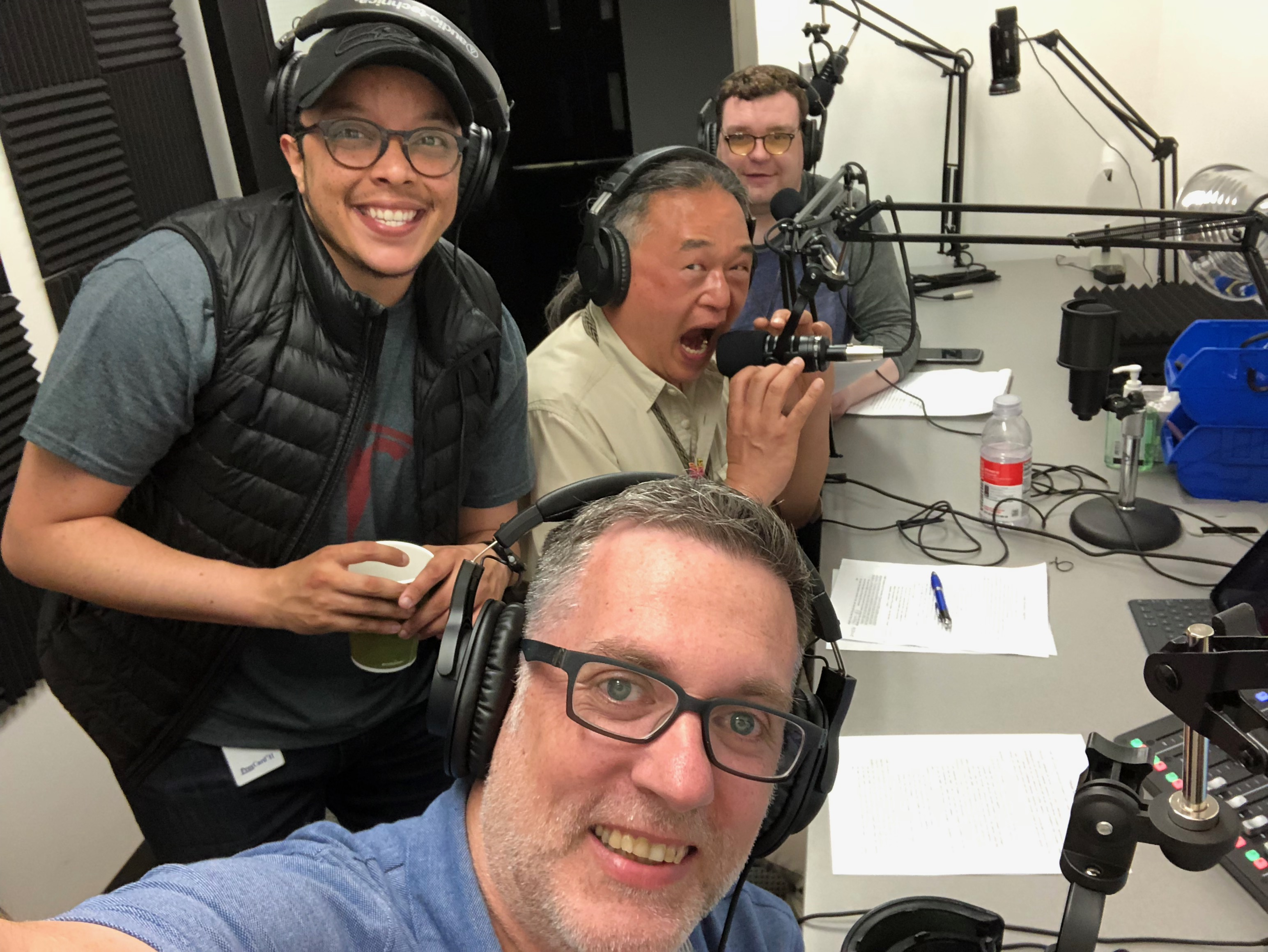 Seattle Central Podcast Production Crew